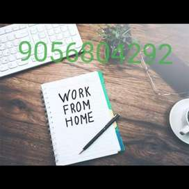 Work 1-2 hrs in a day (from your free times) & Get weekly payo