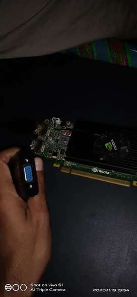 Nvidia nvs 310,512 mb graphic card with connector