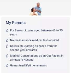 Senior Citizen Mediclaim Policy , STAR HEALTH