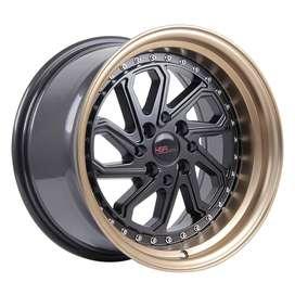 Velg Mobil Avega Wonder Satya Ring 15 Dobo 4x100-1143 Smb Bronze Lip