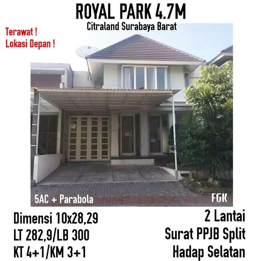 Royal Park I Citraland Surabaya siap huni dkt wbm Dian istana wiyung 0