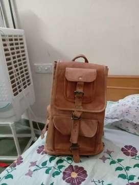 Genuine Leather Backpack Bag