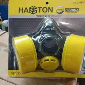 Masker Obat Double PROHEX NP 306 Tabung Ganda Chemical Respirator
