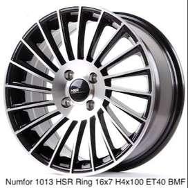 velg NUMFOR 1013 HSR R16X7 H4x100 ET40 BMF