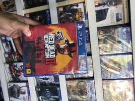 Ps4 RED DEAD REDMPTION 2 Used game exchange rs 500