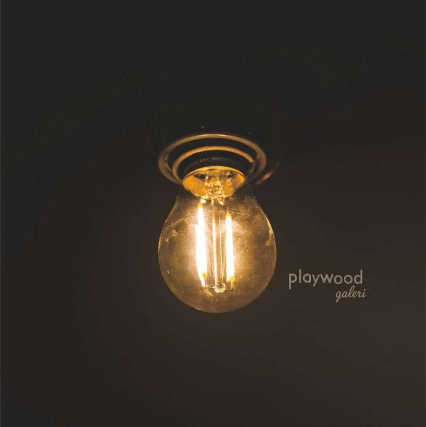 Lampu LED Filamen 2 watt Edison 2w / Filamen LED 2w bulb 2 watt e27 0