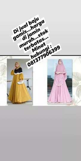 Dijual baju gamis muslim