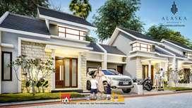 Rumah mewah hanya 8 unit saja lokasi setrategis bisa KPR DP 0%