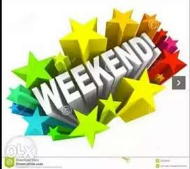 Work on weekends and earn income weekly best extra income opportunity