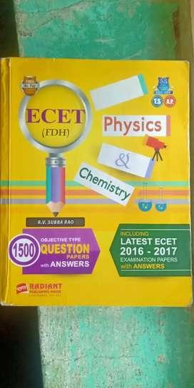 ECET PHYSICS & CHEMISTRY BY R.V.SUBBA RAO