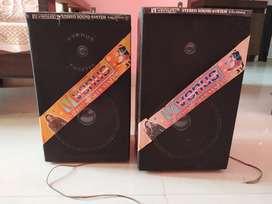 2 big speaker box having woofer like sound
