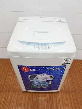 LG fuzzylogic 3 step 6kg  top load washing machine