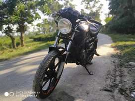 Apachi 150 with modified an loud selincer an different handle bar...