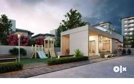 2 BHK Terrace Flat for Sale - Sama Savli Rd- Aaradhya Ornate