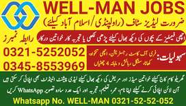 WELL-MAN's Domestic JOBS (Female Only)