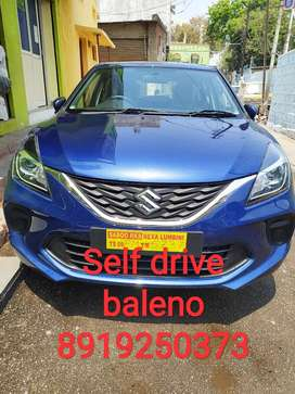 Baleno self drive car rent