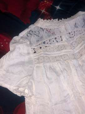 White top from myntra
