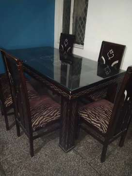 New dining table with 6 chair