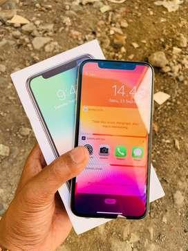 Iphone x 256 gb fullset mulus bisa tt