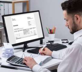 A boy or girl required for accountant