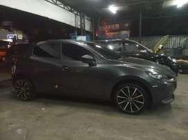 Modifikasi Mazda 2 Pakai Velg Hsr Tpye Quick Ring 17