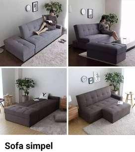 Sofa l minimalis simpel