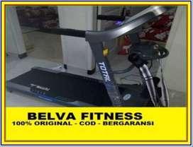 Treadmill Elektrik listrik TL 270 Automatic Incline Hand pulse