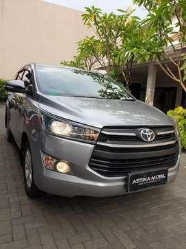 PROMO TDP 28 Toyota Kijang Innova 2.0 G MT-Manual 2016 Silver ASTINA