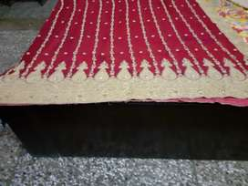 BEAUTIFUL RED BRIDAL LEHNGA