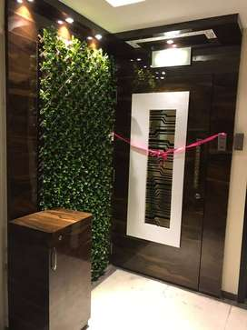 Fully furnised flat at exotica for 1.10 cr with  coved parking