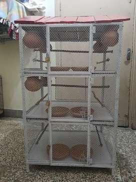 Iron Cage/Pinjra/portion Cage