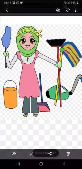 Mencari ART/ PRT/ asisten rumah tangga / pembantu rumah tangga
