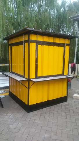 Container Semi Booth