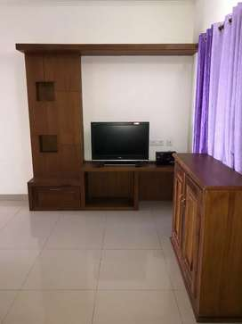 Family or bachelos Fully furnished ac 3 bhk flat for rent kakkanad