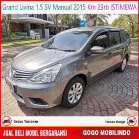 Grand Livina 1.5 SV Manual 2015 KM 23rb ISTIMEWA Bisa Kredit
