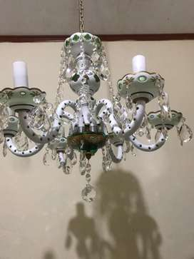 lampu enamel hijau bohemia