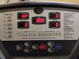 Commercial size treadmill