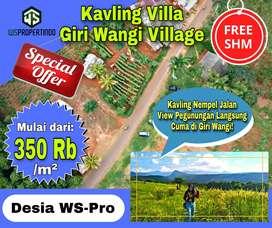 Tanah Murah Nempel Jalan View Pegunungan Langsung-Gratis SHM