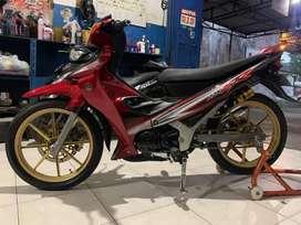 Yamaha 125 Z (full restorasi)