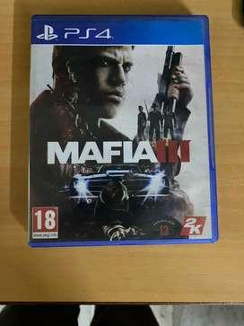 Mafia 3 PS4 CD
