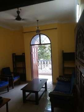 2bhk flat for rent in porvorim prime location