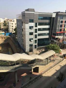 Office space for rent next to Uppal Metro Station