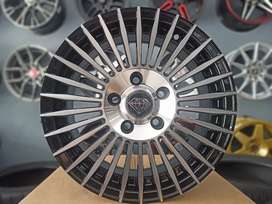 Velg Amw Spin R15x6'5 pcd 5x114 APV Ertiga grandmax