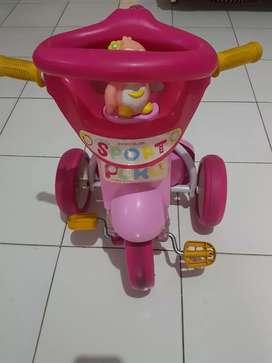 Sepeda puku pink