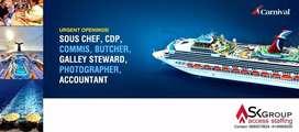 Hiring Hotel Management Candidates for Cruise