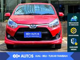 [OLX Autos] Toyota Agya 1.2 G A/T 2019 Merah