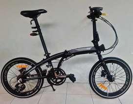 Ecosmo Z8 Sepeda Lipat - Folding Bike