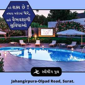 Its a brand new 2BHK Row House for sell at Jahangirpura Olpad Road.