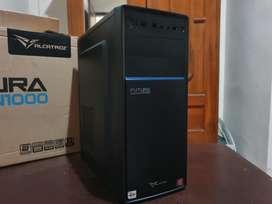 NEGO! Komputer PC Quad Core 200GE Setara Core i3 8GB DDR4 VGA Vega 3