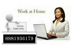 want a home based online or typing work